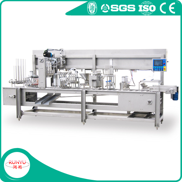 BGJ-4A ice cream cup filling and sealing machine