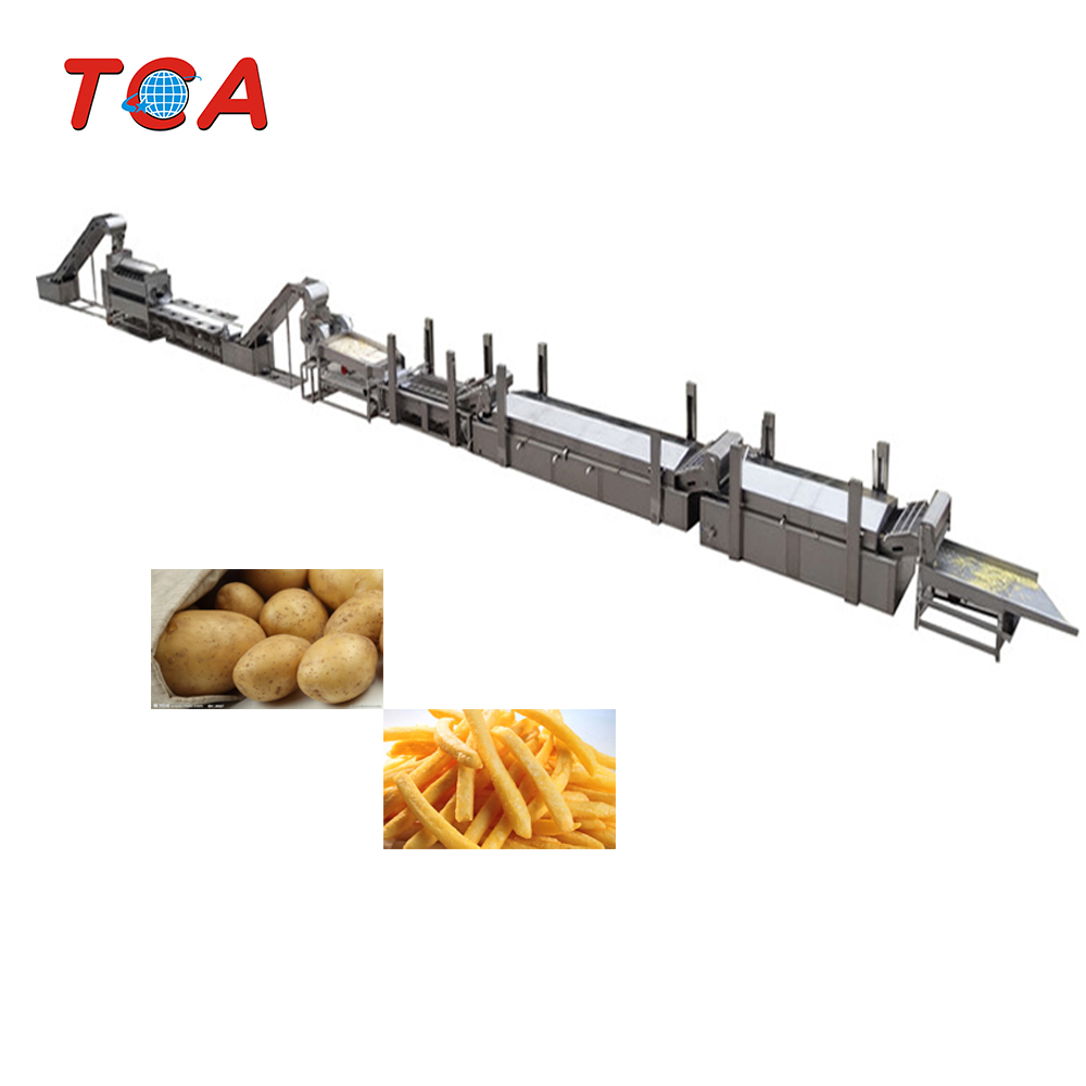 French Fries Deoiling Making Machine Potato Chips Production Line for Sale