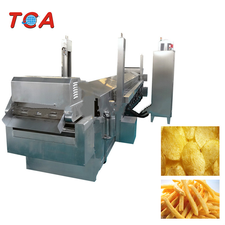 high quality potato chips and french fries fryer for sale