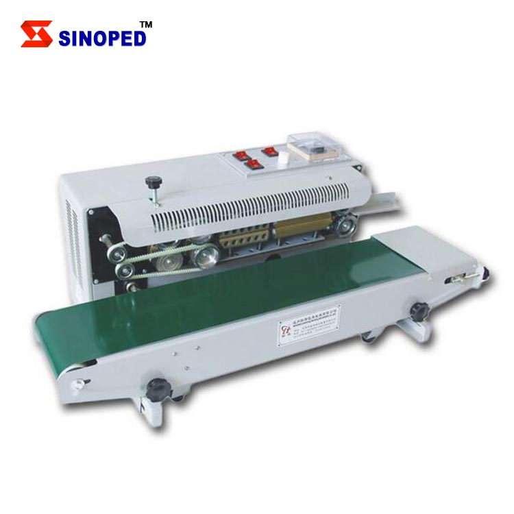 voltage semi-automatic plastic packaging bag heat sealing machine