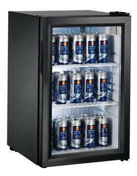 Beverage Beer Bottle Display 2 Glass Door Showcase Chiller Refrigerator Glass Door