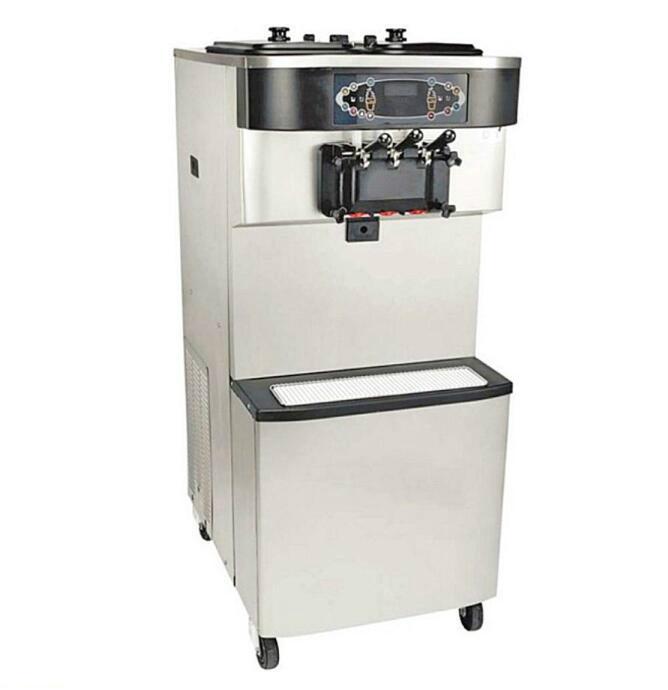 soft ice cream making machine with ce