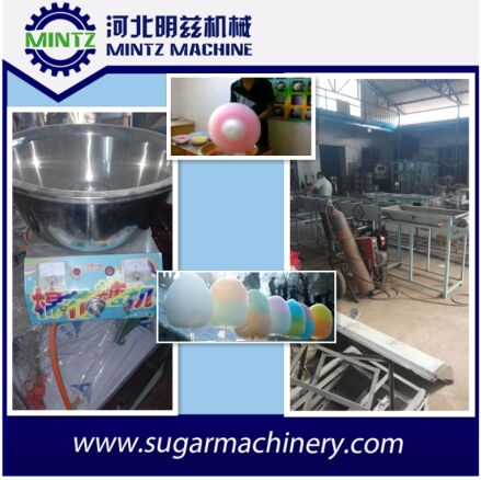 high quality candy floss machine with cart for sale