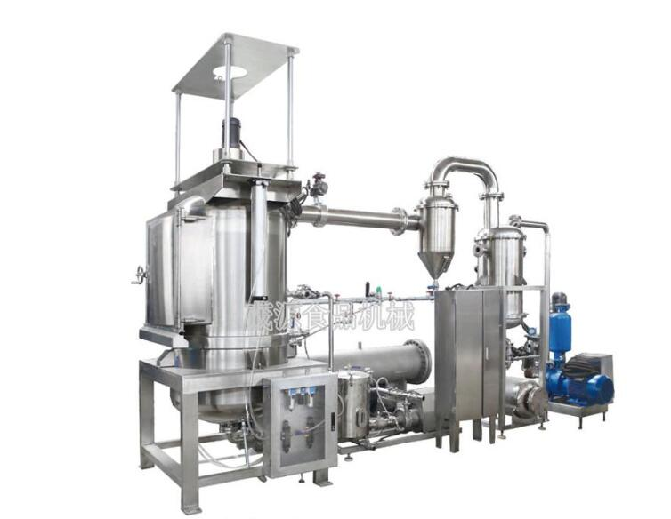 Vacuum Low Temperature Continuous Clean Energy Potato Chips Frying Machine