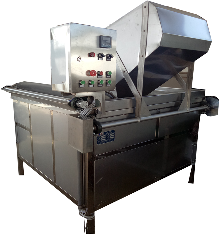 Chips Nuts Fryer Frying Oil Filtering Machine Supplier