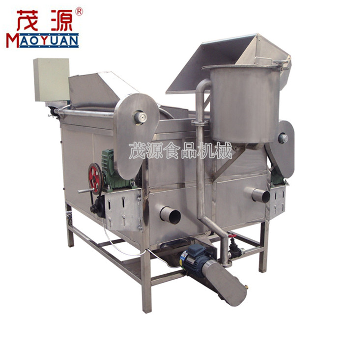 high quality peanut snack frying machine potato chips frying machine manufacturer