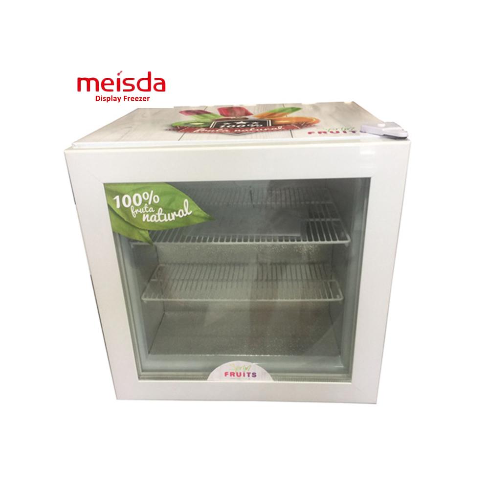 SD55 Glass Door Mini Ice Cream freezer