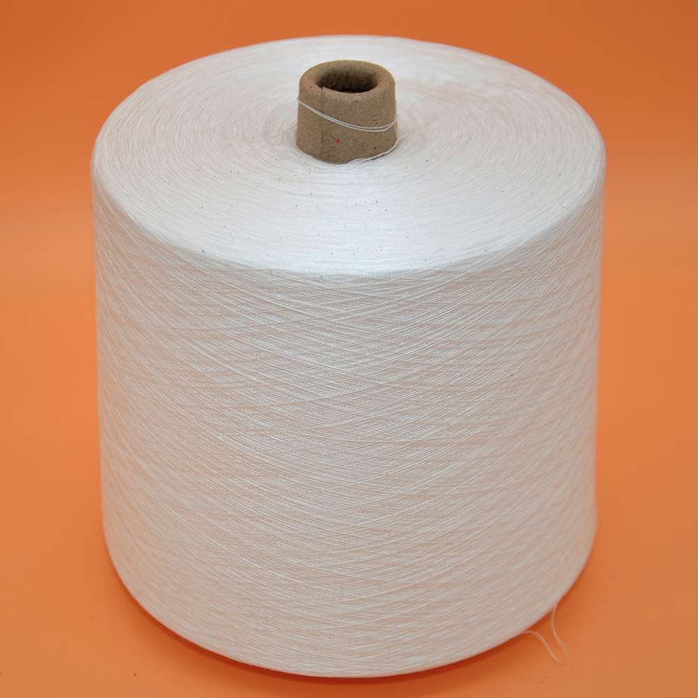 OEKO-TEX Standard Anti-Pilling Knotless Raw White 100 Polyester Yarn