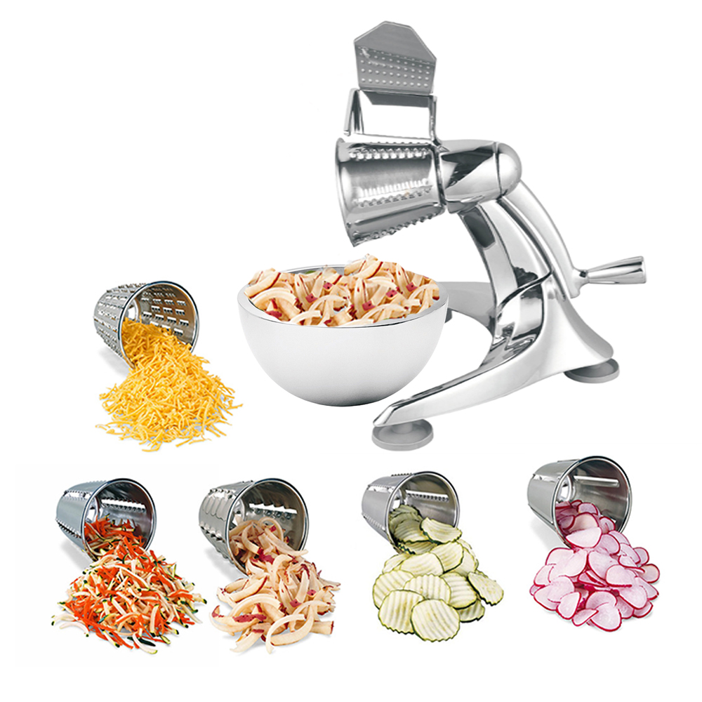 Vegetable and Fruit Stainless Steel Salad Cutter Supplier