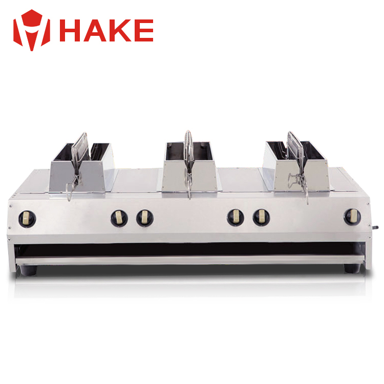 commercial fish grill machine grilled fish roasting machine