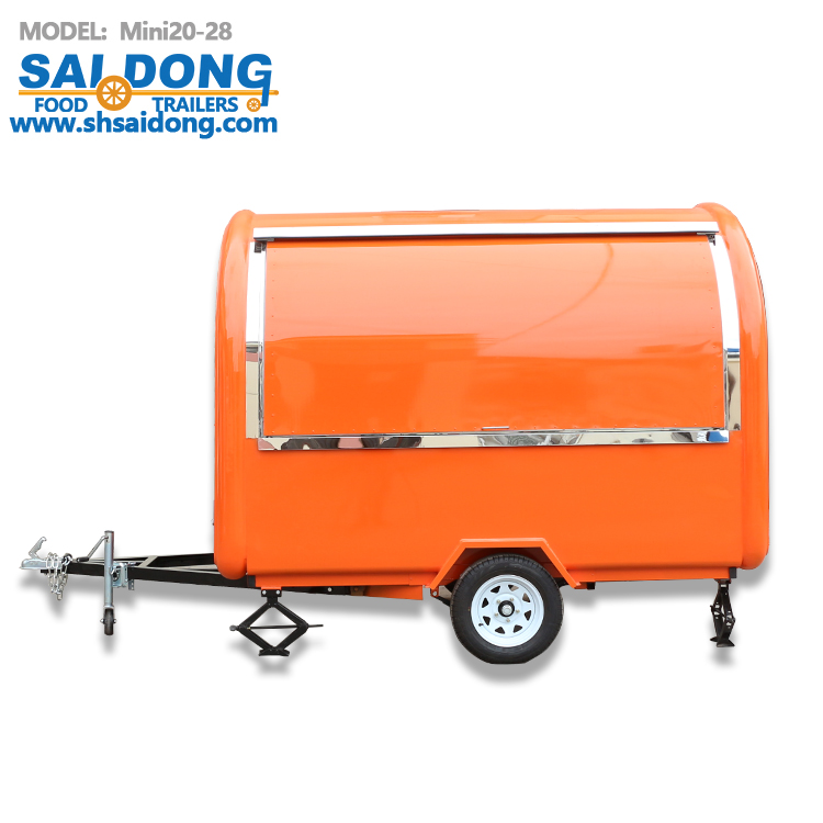 Mini20-28 Mobile Food Cart Food Trailer