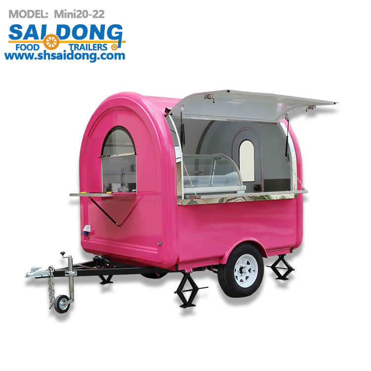 Mini20-22 coffee cart for sale