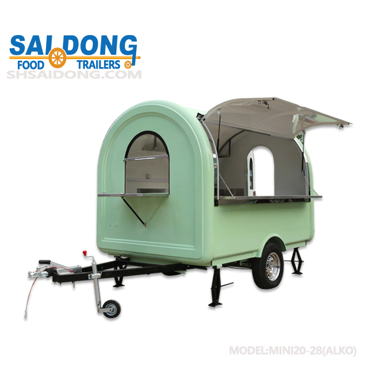 food trailer mobile kitchen trailer Mini20-28