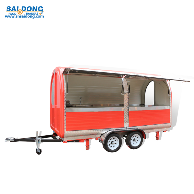 mobile food cart trailer FV22W-22