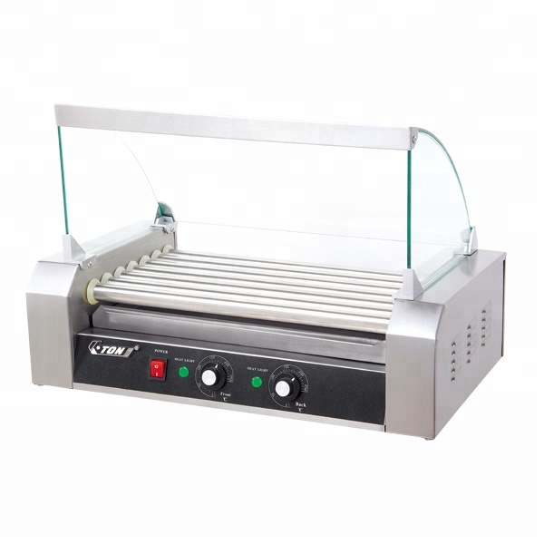 Eton 7 Roller Hot Dog Machine with Cover