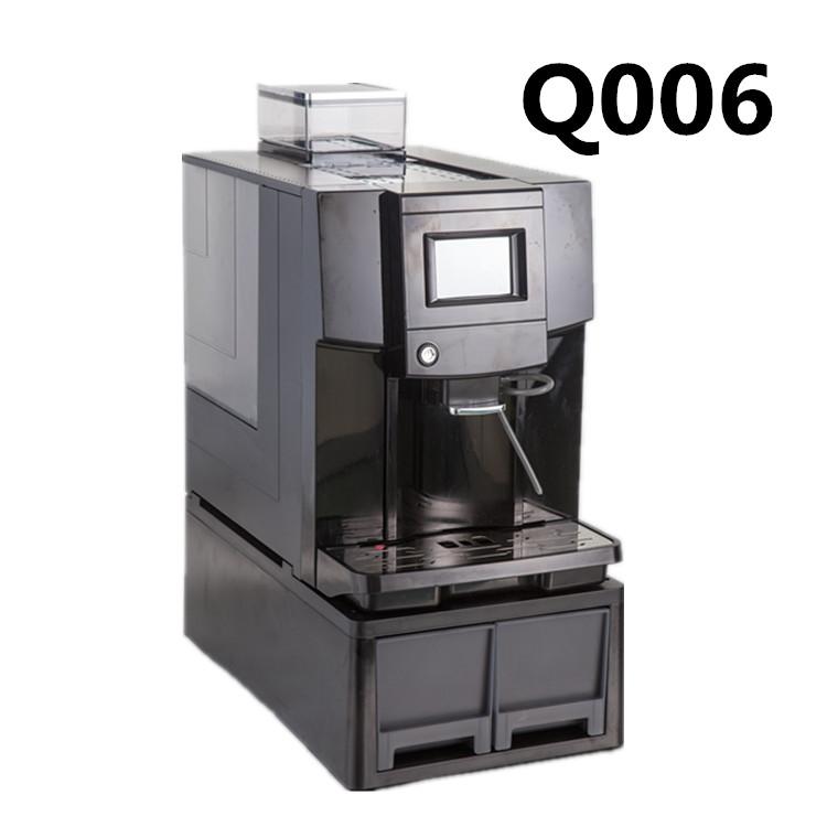 silver&black 4language commercial espresso coffee maker
