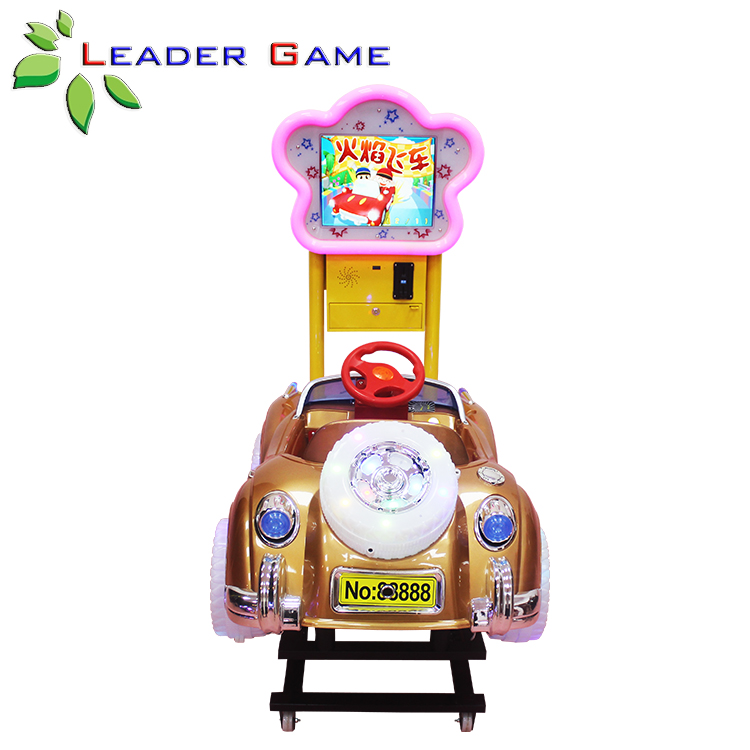 LG-KG-0003 Indoor Amusement Game Machine Electric Simulator Car Drive Game For Kids