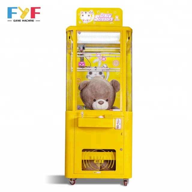 FYF arcade gift scissors machine toy crane game machine coin operated gift machine sale