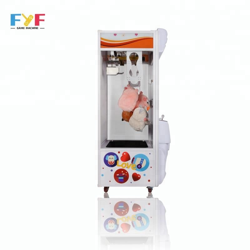 FYF GAMES Arcade toy scissors crane gift machines coin operated game machine