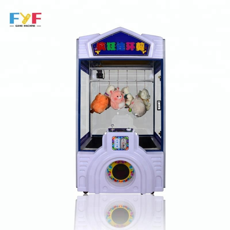 FYF Arcade toy scissors toy crane game machine coin operated gift machines cheap price