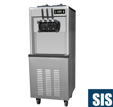 Commercial Soft Ice Cream Machine - Two Flavor In China sale
