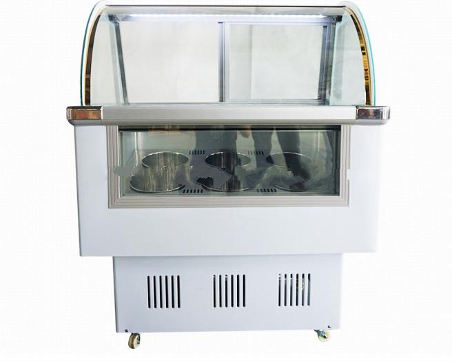 BALSEN ice cream display cabinet/popular ice cream showcase display case