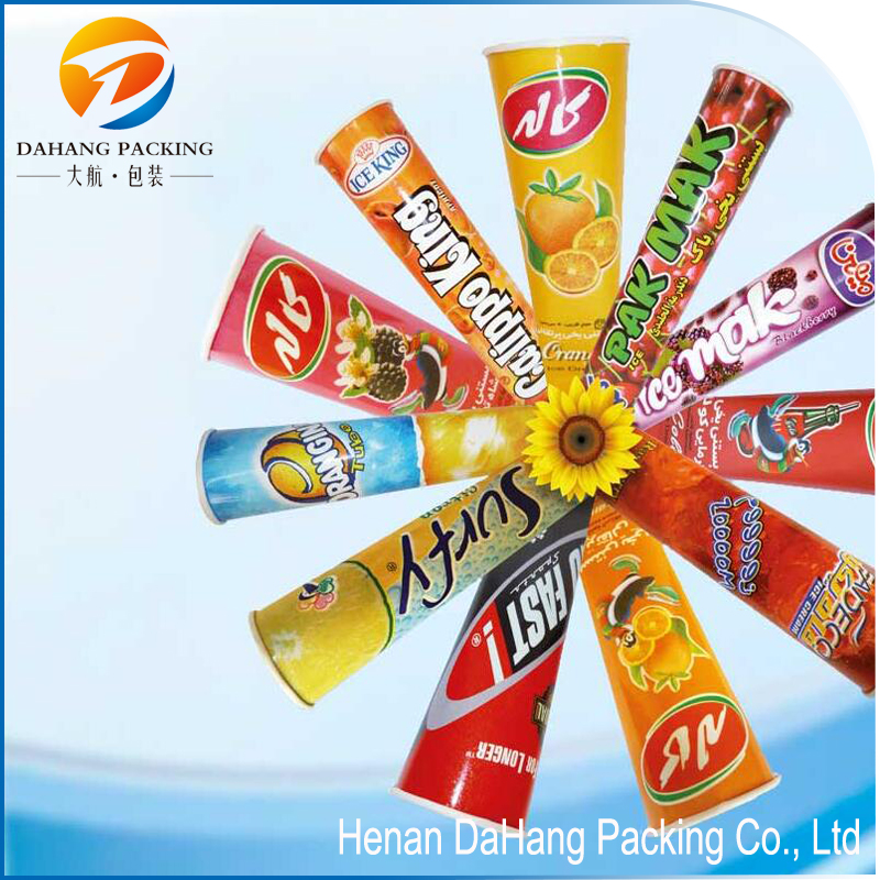 DI005 DaHang Packaged for calippo tube / ice cream paper cup wit lid