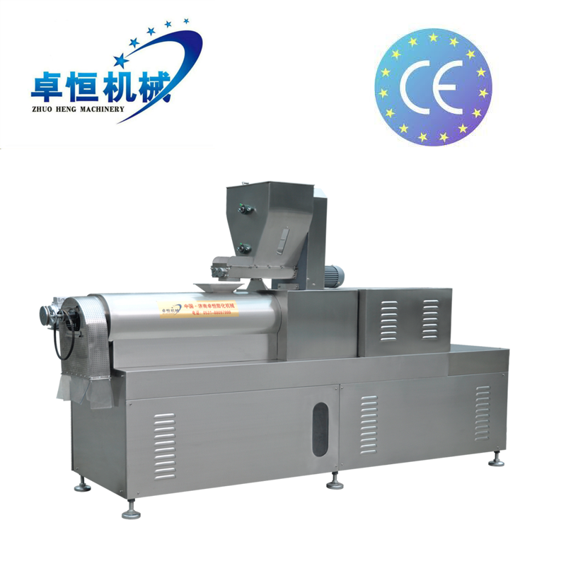 Large capacity breakfast cerea corn flakes extruding machine line manufacturer