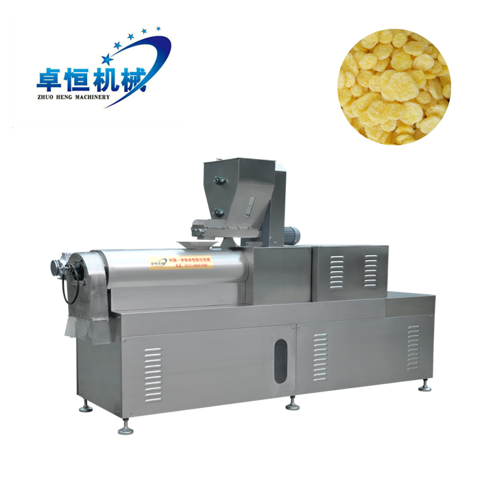 Automatic extruding breakfast cereal making machine