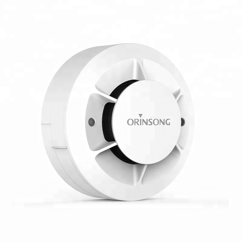 Manufacture Ceiling Wall Mounted 4 Wires Conventional Smoke Detector