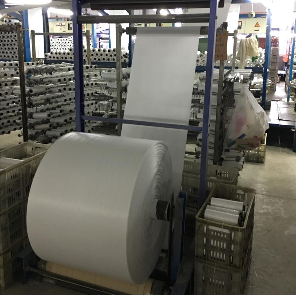 factory of PP woven tubular/sheet fabric rolls for sacks/bags and packaging bags in rolls for sale