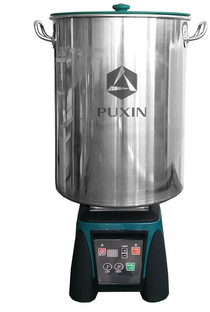 Puxin 3000W Food Processing Factory Food Waste Disposer for sale