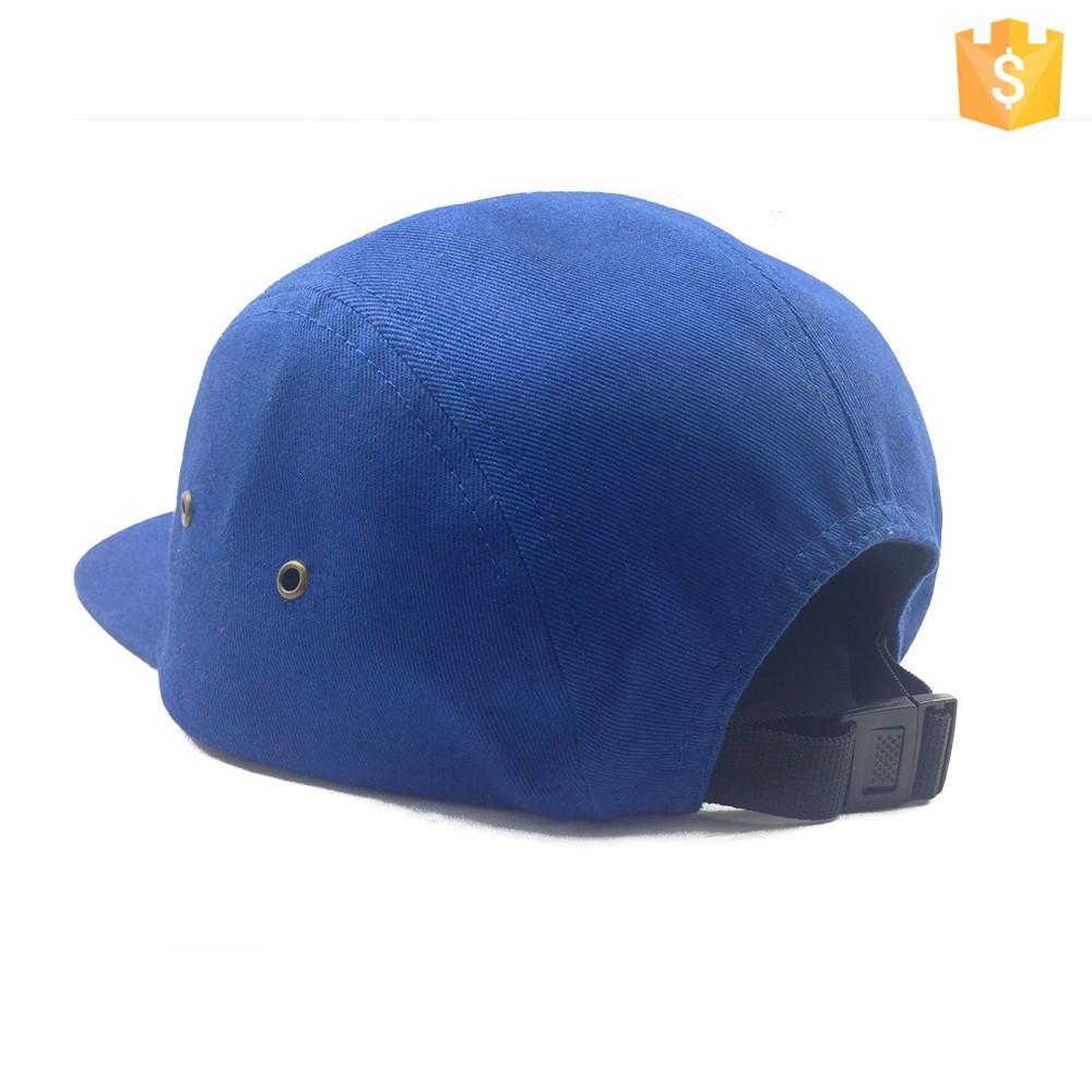 Wholesale custom fashion men 5 panel hat