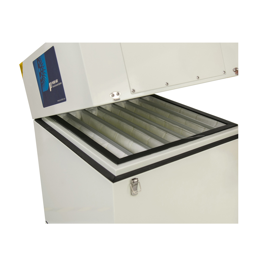 Laser cutting Machine air filter for gas disposal