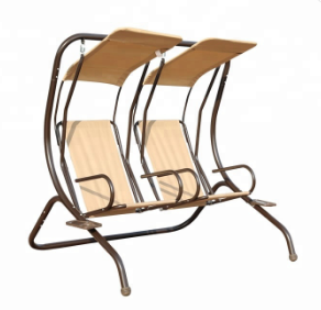 two seat outdoor & indoor swing chair