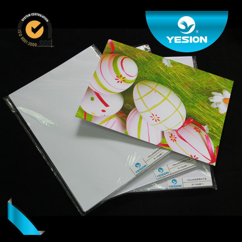 YE-DGP-A 180gsm 200gsm double sided a4 sizes inkjet wholesale a4 300gsm bulk matte waterproof photo paper