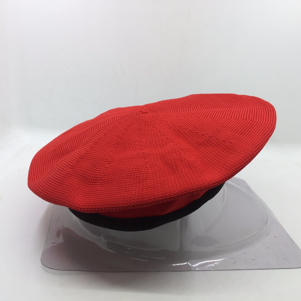 Cheap fashion red wool military berets for women