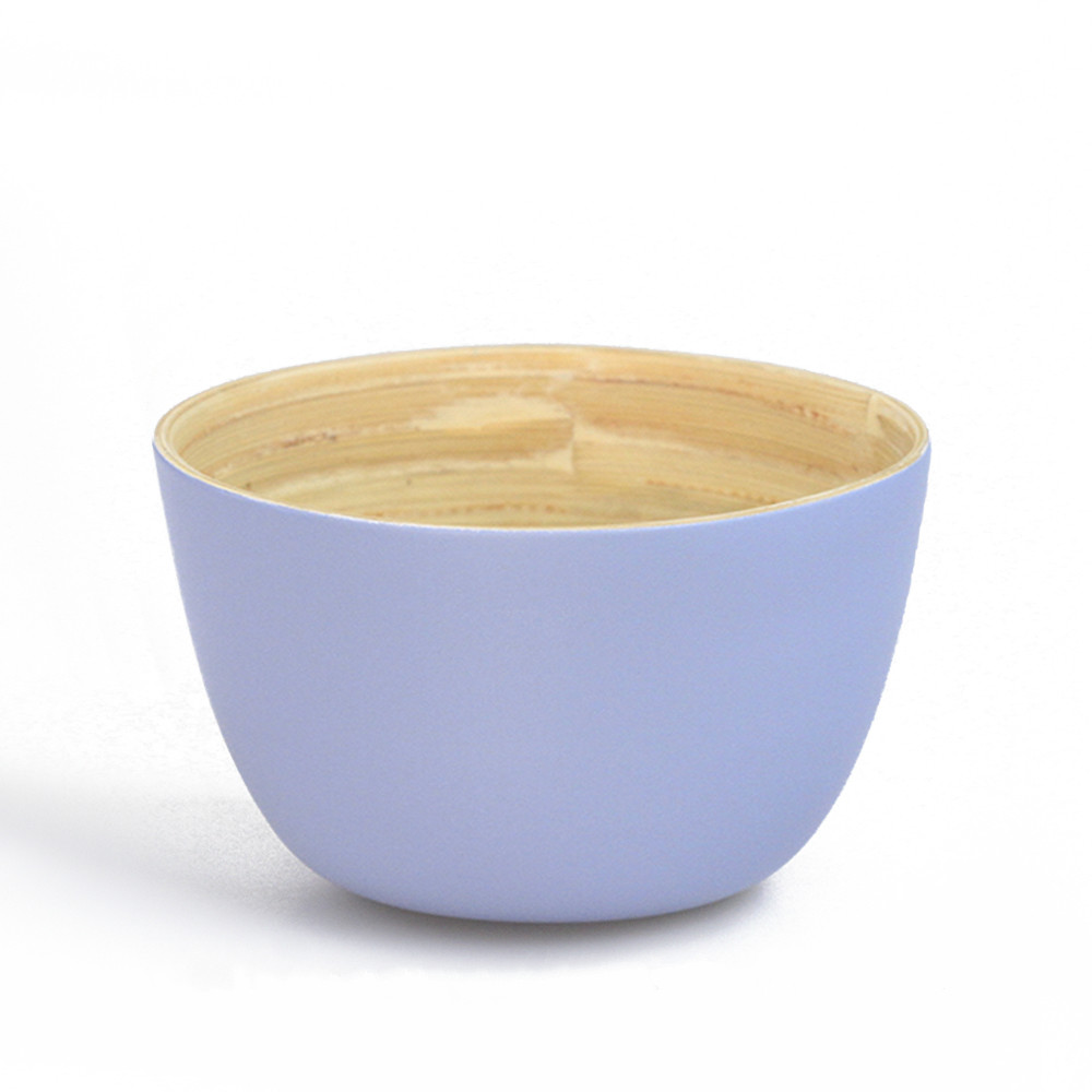 Disposable painted bamboo salad bowl made in VItenam for sale