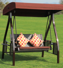 outdoor rattan hammock swing