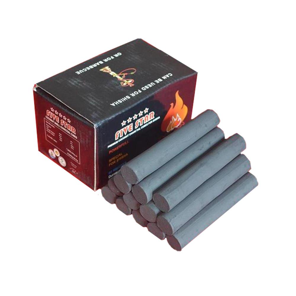 Hongqiang Finger Hookah Charcoal Long Time Burning Shisha Charcoal for sale