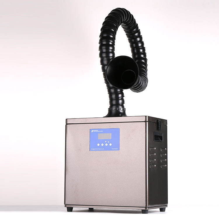 Soldering Fume Extractor with single free-standing arm & CE Certification
