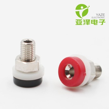 YAZE 2mm banana socket 5A terminal brass plated nickel test hole socket for sale