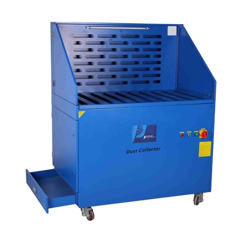 Pure-Air PA-2400DM sanding table workbench dust collector for polishing/grinding dust collector