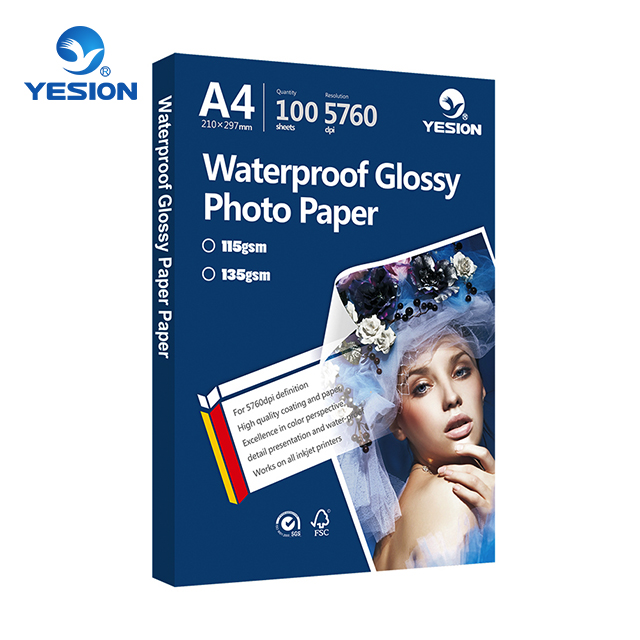 YE-NGP-A Yesion High quality 115-260gsm glossy inkjet photo paper a4