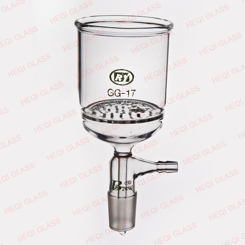 A-018521 Lab Glassware Glass Fritted Disc Filter Funnel
