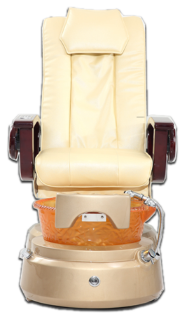 Whirlpool massage pedicure chair
