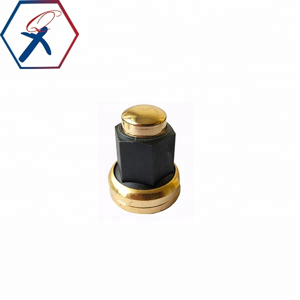 M22x1.5 golden wheel nut with long cover for sale