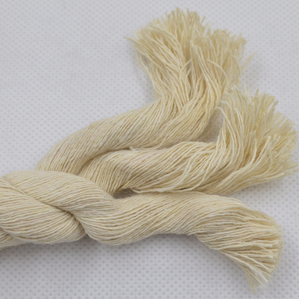 Factory produced 3d outdoor decorations colored cotton craft twisted rope for sale