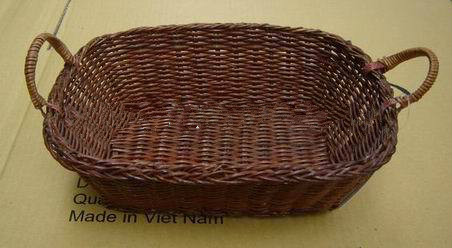 water hyacinth storage basket with iron frame