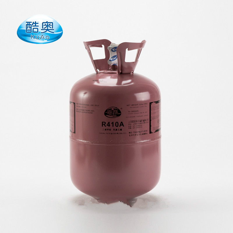 Eco-friendly R410A Refrigerant Gas in High Purity above 99.99% for sale